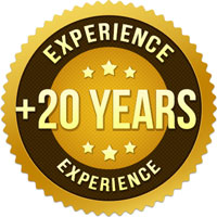 More than 20 years of experience